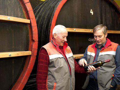 Slovenské víno z magistrály Moskva - Berlín