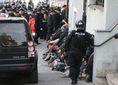 radikali extremisti zidovska ul.,zasah policie, zatykanie