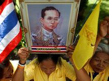 Thajsko, oslavy, kráľ, výročie na tróne