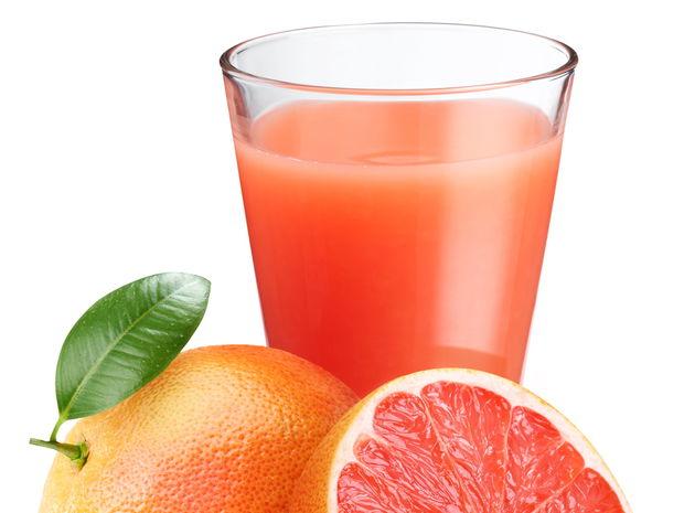 grapefruit, šťava, džús