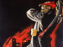 plagát, Hitler, Nemecko, boľševizmus