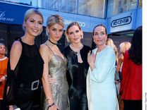 Lena Gercke, Luisa Hartema, Nadja Auermann a Tatjana Patitz.