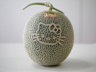 melón, Hello Kitty,