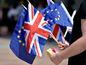 Veľká Británia, Európska únia, vlajky