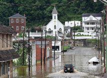 záplavy, USA