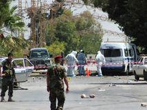Libanon, výbuch, vojaci