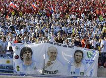Diego Maradona, pápež František, Lionel Messi