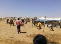 jordánsko, tábor, utečenci