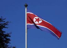 Severná Kórea, vlajka
