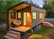 tiny house, minidomček, miniatúrny dom