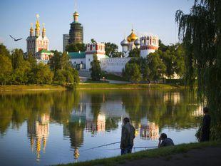 Novodievčí monastier, Moskva, Rusko, história, rybník