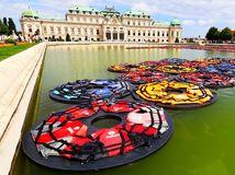 Viedeň, Rakúsko, palác Belvedere,