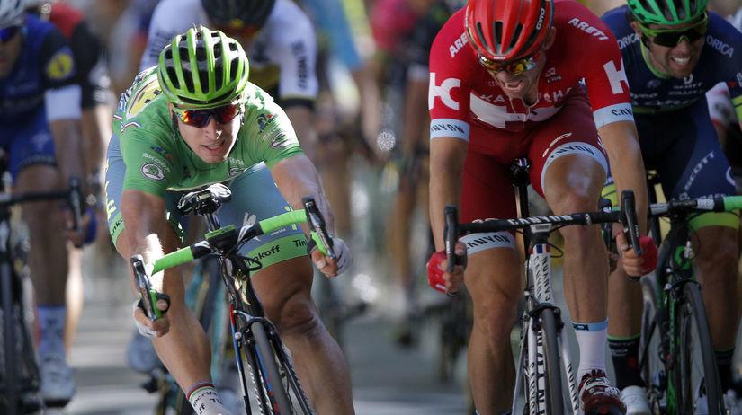 e4ba372fba207 Úžasný Sagan!!! V tesnom špurte vyhral tretiu etapu na Tour de France -  Cyklistika - Šport - Pravda.sk