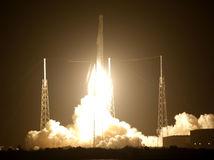 falcon 9, vesmír, raketa, ISS