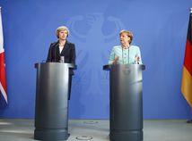 Theresa Mayová, Theresa May, Angela Merkelová, Angela Merkel,