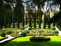 Giardino Giusti, Verona, Taliansko, záhrada, zeleň