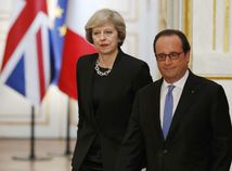 Theresa Mayová, Theresa May, Francois Hollande