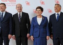 V4, Robert Fico, Bohuslav Sobotka, Beata Szydlová, Viktor Orbán,