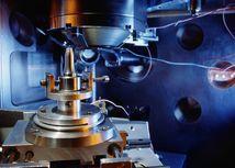 atóm, chlór, riadkovací tunelový mikroskop