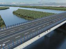 most, cesta, Dunaj