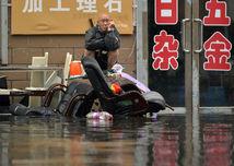 čína, záplavy