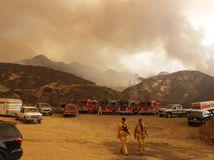 kalifornia, hasiči, požiar