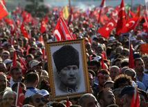 turecko, istanbul, demonštrácia, protest