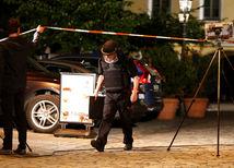 Ansbach, výbuch, auto