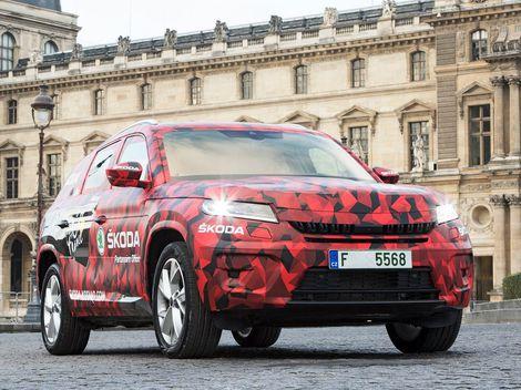 Škoda Kodiaq: Takto vyzeral český 'medveď' v Paríži