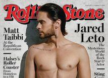 Herec Jared Leto na titulnej strane Rolling Stone.