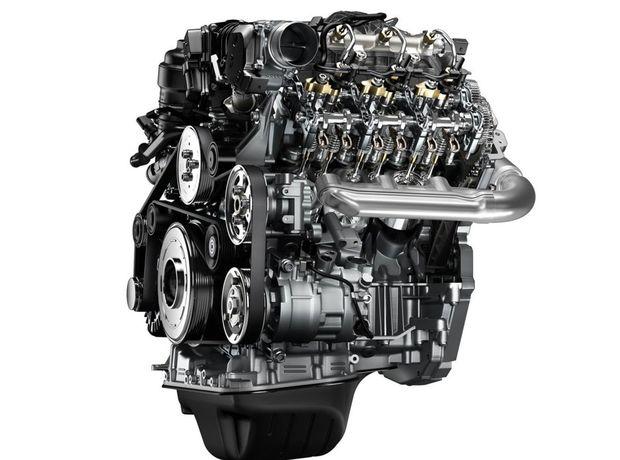 Pod kapotou Amaroku je úplne nové 6-valcové srdce 3,0 TDI. Najvýkonnejšia verzia ponúka 165 kW a 550 Nm krútiaceho momentu.
