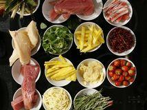 suši, suroviny, ingrediencie, varenie, jedlo, varecha, kuchyňa