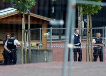 Belgicko, útok, mačeta, policajti