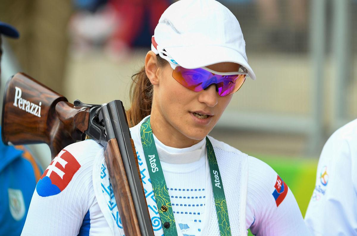 Slovenská strelkyňa Danka Barteková.