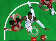 USA, basketbal, Rio