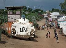 OSN, Južný Sudán, auto, Juba