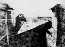 Pohľad z okna v Le Gras, Joseph Nicéphore Niépce
