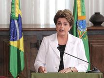 brazílska prezidentka, Dilma Rousseffová
