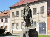 Slovenska Lupca, pamatnik, socha