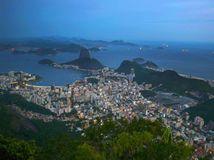 Rio de Janeiro, Brazília, pláž, more