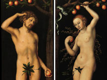 Lucas Cranach starší Adam Eva