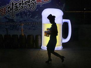 pivo, pivný festival, KĽDR, Severná Kórea