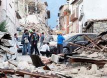 Taliansko, zemetrasenie