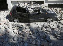 zemetrasenie v Taliansku, zemetrasenie, trosky,