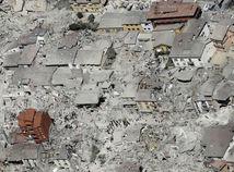 zemetrasenie, zemetrasenie v Taliansku, trosky,