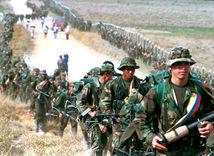 Kolumbia, rebeli, povstalci, FARC