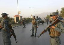 vojaci, stráž, Kábul, univerzita