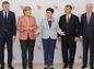 Fico, Merkelová, Szydlová, Sobotka, Orbán,