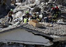 Pescara del Tronto, zemetrasenie v Taliansku, trosky,