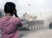 Turecko, sýria, tank,